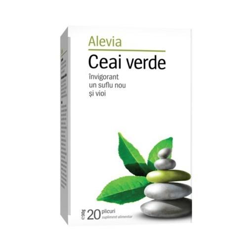 Imagine Alevia - Ceai verde 20 plicuri