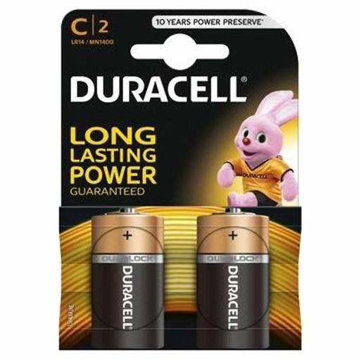 Imagine Baterie alcalina Duracell Basic C2