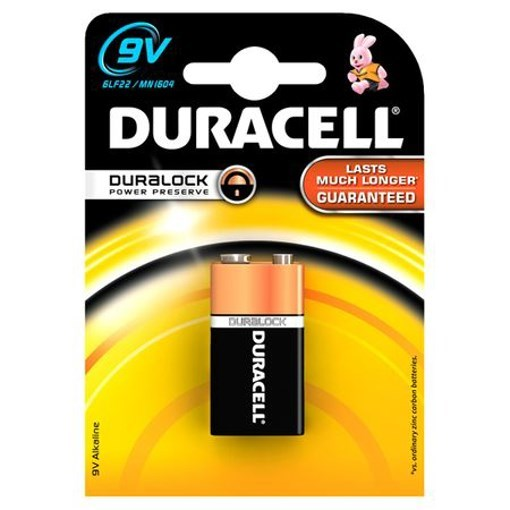 Imagine Baterie alcalina Duracell Basic 9V