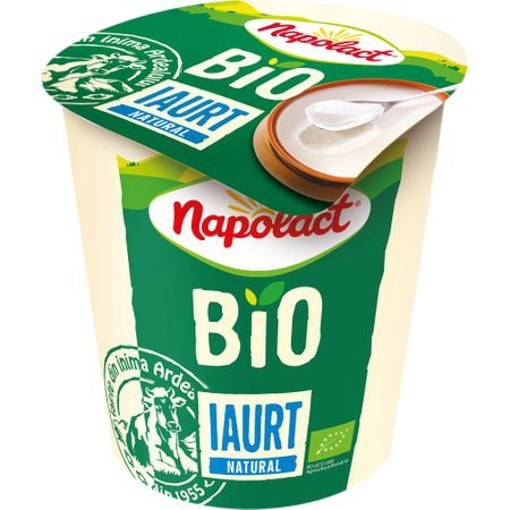 Imagine Iaurt natur Bio 3.8% Pahar 140 g Napolact
