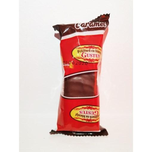 Imagine Salam Glazurat caramel si stafide 73 grame