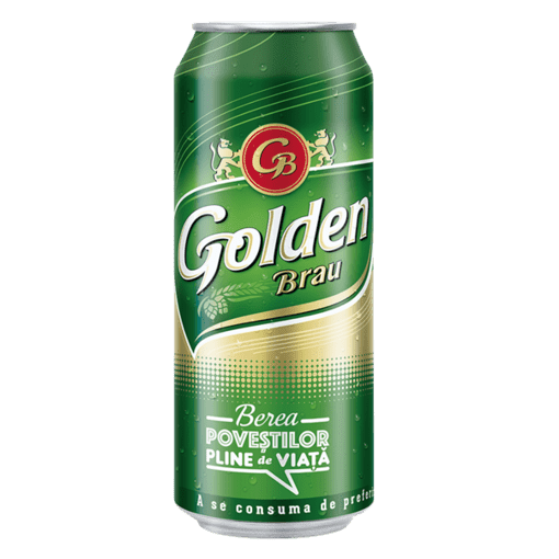 Imagine Bere Golden Brau 0.5 L (dz)