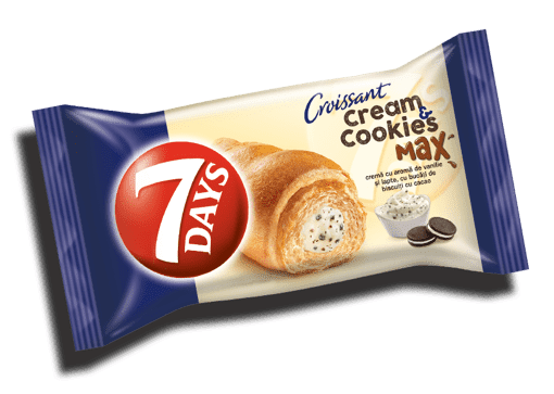 Imagine 7Days Vanilla cream & Cocoa Cookies 80 gr