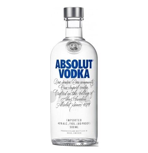 Imagine Absolut Vodka Blue 40% 0.5L
