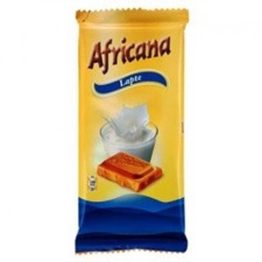Imagine Africana ciocolata cu lapte 90g