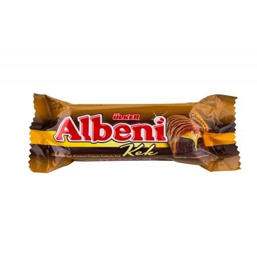 Imagine Albeni chec caco si caramel 40 gr.