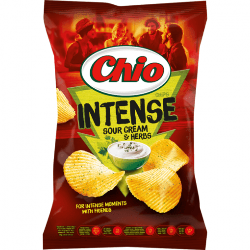 Imagine Chio Chips Intense Sour&Herb 95G