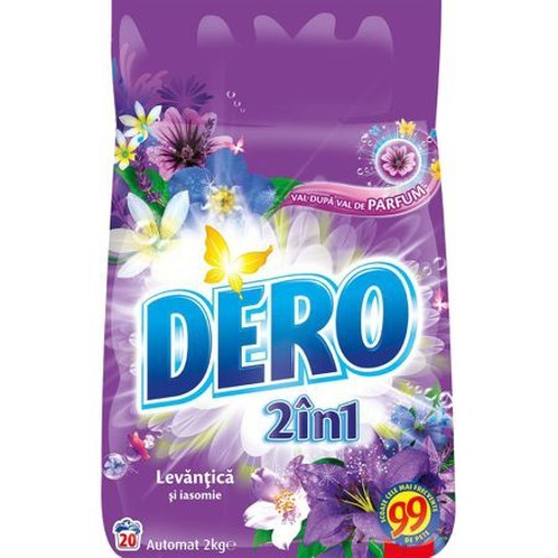 Imagine Detergent 2in1 Color Levantica Automat - 2kg - DERO