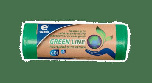 Imagine Epack Saci Menaj Green Line 60l, 20 buc.