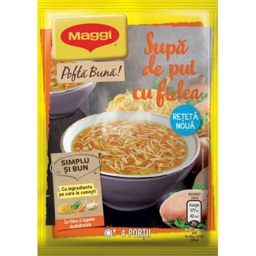 Imagine Maggi Supa Pui Fidea 50 grame