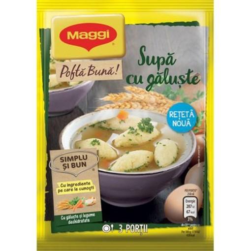 Imagine Maggi supa Galuste 49 grame