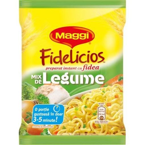 Imagine Maggi Fidelicios Instant Legume, 60 gr.