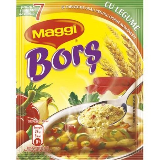 Imagine Maggi Bors Legume 70 grame