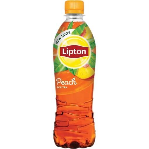 Imagine Lipton Ice Tea Green Peach 500 ml (Promotie)