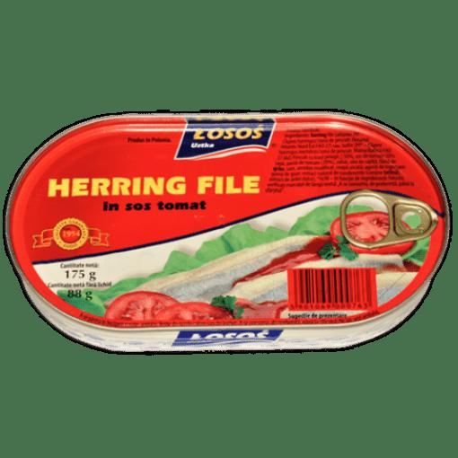 Imagine Losos Hering file in sos tomat 175 grame