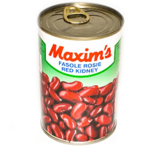 Imagine Maxim's Premium - Fasole Rosie Red Kidney, 400 gr.