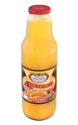 Imagine Nectar de mar cu portocale dietetic Arovit 750 ml