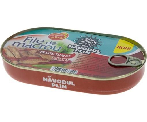 Imagine Navodul Plin File Macrou in sos picant 180 gr