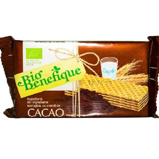 Imagine Napolitane cu Crema Cacao 40gr SLY