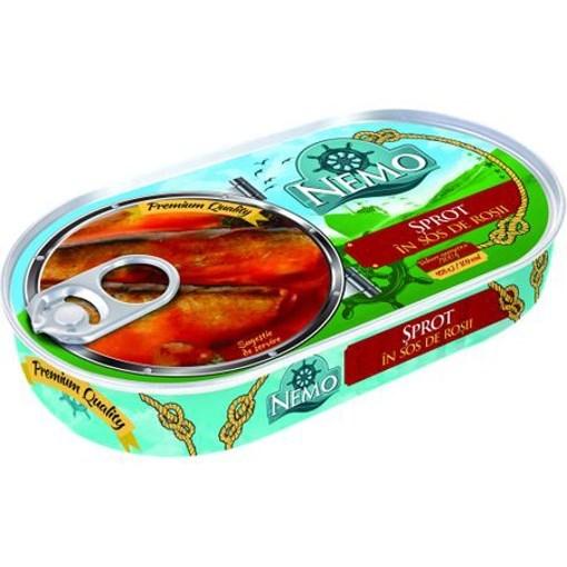 Imagine Nemo Sprot in sos de rosii 170 gr.