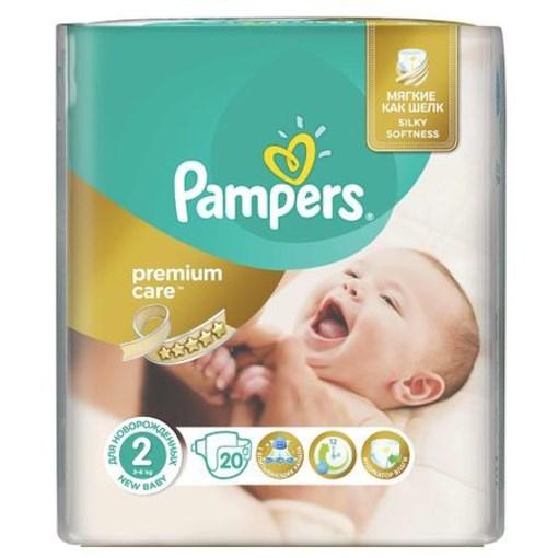 Imagine Pampers Premium Care 20 Buc, Nr. 2