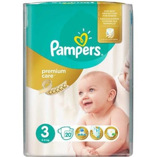 Imagine Pampers Premium Care 3 Midi (20)