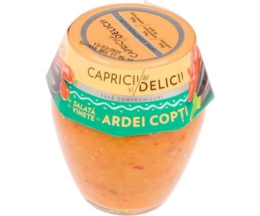 Imagine Salata de vinete cu ardei copti Delicii 290 grame