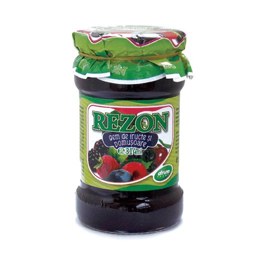 Imagine Rezon Gem de Fructe Si Pomisoare 314ml
