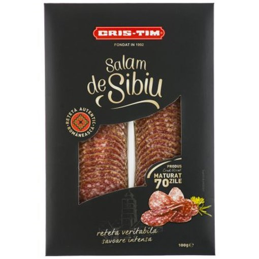 Imagine Salam Sibiu Cris-Tim, 100 gr.