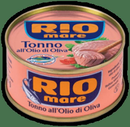 Imagine Rio Mare Ton in ulei de masline, 160 gr.