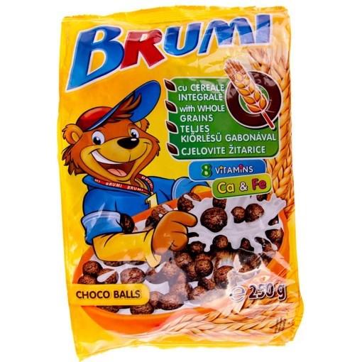 Imagine Cereale Brumi Bilute Ciocolata 250 gr.