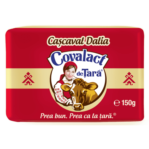 Imagine Cascaval Covalact Dalia egalizat, 150g