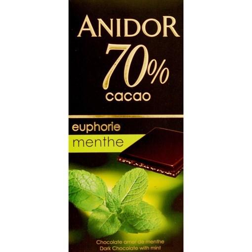 Imagine Ciocolata Anidor Menta 70% 85g