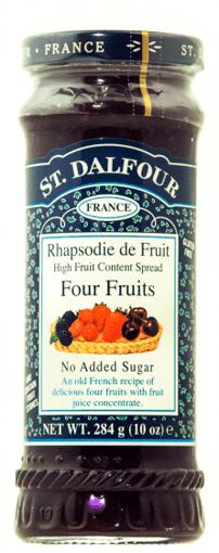 Imagine Gem patru fructe Dalfour 284 grame
