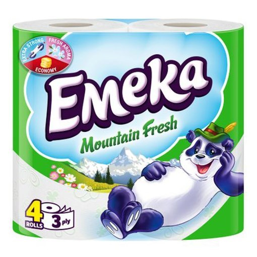 Imagine Hartie igienica Emeka Mountain Fresh 4 Role