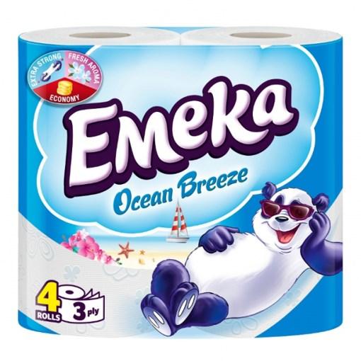 Imagine Hartie igienica Emeka Ocean Breeze 4 Role