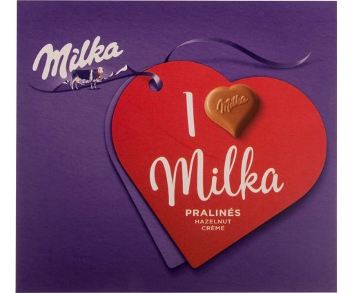 Imagine I Love milka Nugat 110g