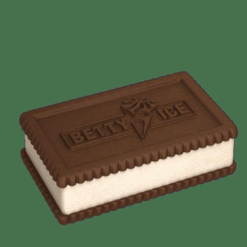 Imagine Inghetata Betty Squash vanilie cu biscuiti de ciocolata 175ml/93gr