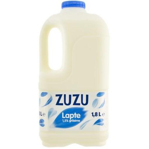 Imagine Lapte semidegresat Zuzu, 1.5%, 1.8L