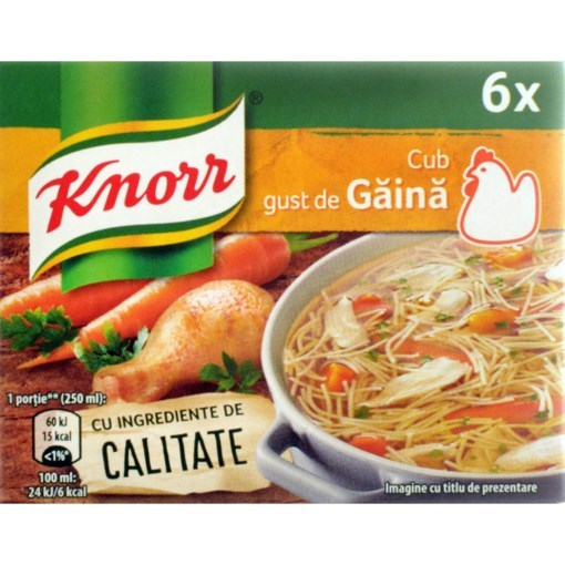 Imagine Knorr cub gaina