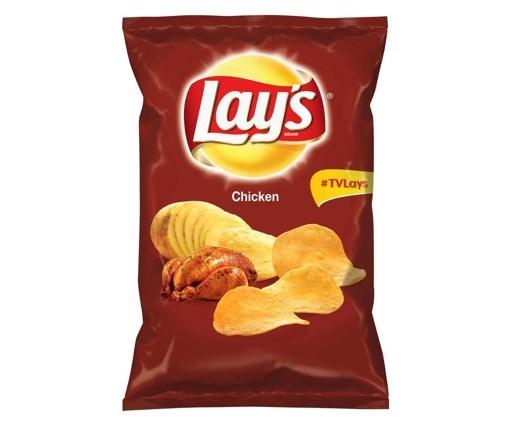 Imagine Lay's chipsuri cu pui 60g
