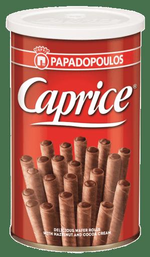 Imagine Napolitana Caprice alune si cacao, 115 gr.