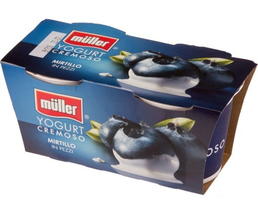 Imagine Muller Bipack Iaurt cu Bucati de Afine 125 grame