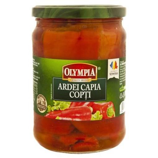 Imagine Ardei Capia Copti in Otet Olympia 550g