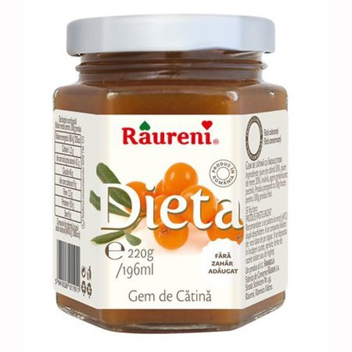 Imagine Raureni Gem Catina dietetic 220 gr.