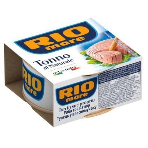Imagine Rio Mare ton in suc natural 160gr