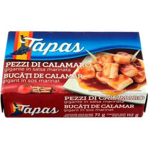Imagine Tapas Calamar Bucati in Sos Marinat 112 grame