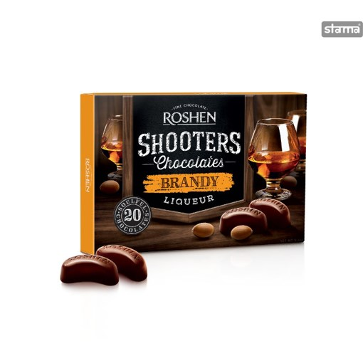 Imagine Shooters Choco Brandy Liq.150G