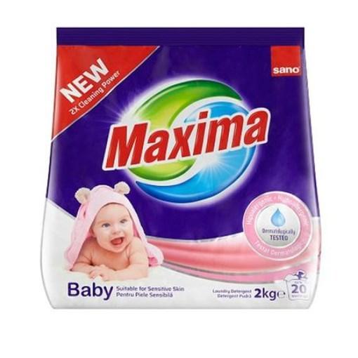 Imagine Detergent rufe pudra Sano Maxima Baby 2Kg