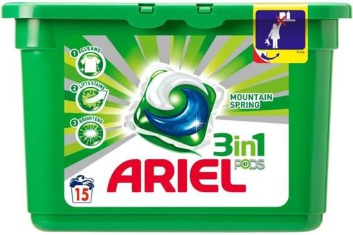 Imagine Ariel Act Gel Caps Lav Pods 15x27ml